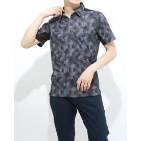 メンズ ゴルフ 半袖シャツ TR-1H1001P (ブラック)