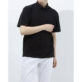 メンズ 半袖機能ポロシャツ TR-9A1371PS SM (ブラック)