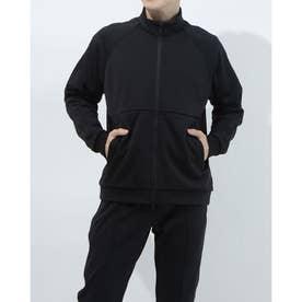 メンズ 長袖ジャージジャケット TR-9A1201TJ (ブラック)