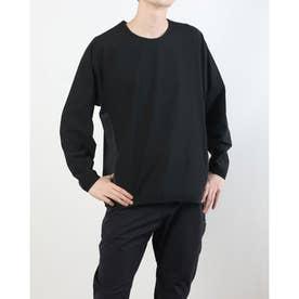 メンズ 陸上/ランニング 長袖Tシャツ TR-3R1241LS BK (ブラック)