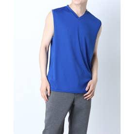 メンズ サッカー/フットサル ノースリーブインナーシャツ TR-8SW1101TSクール (ブルー)