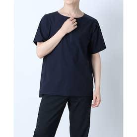 メンズ 陸上/ランニング 半袖Tシャツ TR-3R1251ZP NV (ネイビー)