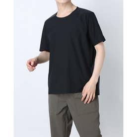 メンズ 陸上/ランニング 半袖Tシャツ TR-3R1261TS BK (ブラック)