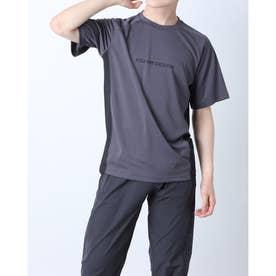 メンズ 陸上/ランニング 半袖Tシャツ TR-9P1221TS (グレー)