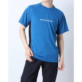 メンズ 陸上/ランニング 半袖Tシャツ TR-9P1221TS (ブルー)