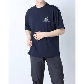 メンズ アウトドア 半袖Tシャツ TR-9P1321TS (ネイビー)
