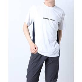 メンズ 陸上/ランニング 半袖Tシャツ TR-9P1221TS (ホワイト)