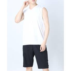 メンズ サッカー/フットサル ノースリーブインナーシャツ TR-8SW1101TSクール (ホワイト)
