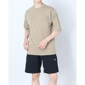 メンズ 半袖機能Tシャツ TR-9A1491TS (ベージュ)
