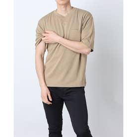 メンズ 半袖Tシャツ TR-9C1461TS (ベージュ)