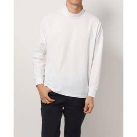メンズ ゴルフ 長袖シャツ WHITE LABEL ストレッチハイネックロングTシャツ TR-1L1591H (ホワイト)