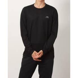 メンズ 陸上/ランニング 長袖Tシャツ - TR-3R1611TL (ブラック)