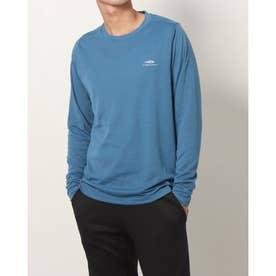 メンズ 陸上/ランニング 長袖Tシャツ - TR-3R1611TL (ブルー)