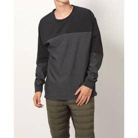 メンズ 陸上/ランニング 長袖Tシャツ - TR-3R1601PO (グレー)