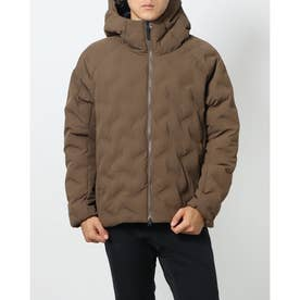 メンズ 中綿ジャケット SMARTアルミパデットフードジャケット TR-9C1621IJ (ブラウン)