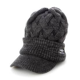 メンズ ゴルフ ニット帽子 Mつば付ニット帽子 TR-1C1551KC (他)