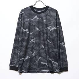 バスケットボール 長袖Tシャツ TR-8KW3610TL (ブラック)
