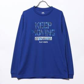 バスケットボール 長袖Tシャツ TR-8KW3600TL (ブルー)