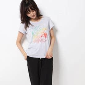 レディース フィットネス 半袖Tシャツ TR-3F2609TS モク