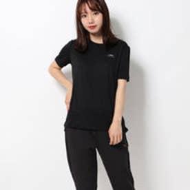 レディース 陸上/ランニング 半袖Tシャツ TR-3R2509TS BK