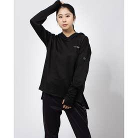 レディース 陸上/ランニング 長袖Tシャツ TR-3R2610TL (ブラック)