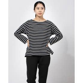 レディース 長袖Tシャツ TR-9C2640CL (ブラック)