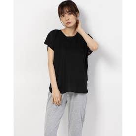 レディース フィットネス 半袖Tシャツ TR-3F2610TS (ブラック)
