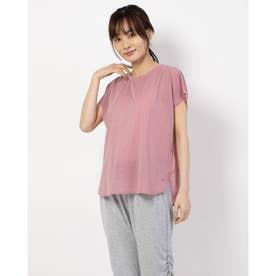 レディース フィットネス 半袖Tシャツ TR-3F2610TS (ピンク)