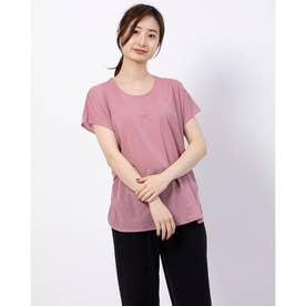 レディース フィットネス 半袖Tシャツ TR-3F2620TS (ピンク)