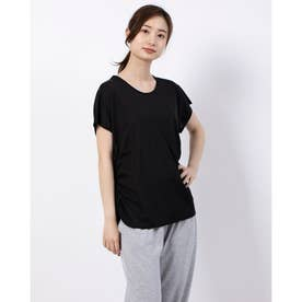 レディース フィットネス 半袖Tシャツ TR-3F2620TS (ブラック)