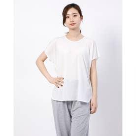レディース フィットネス 半袖Tシャツ TR-3F2620TS (ホワイト)