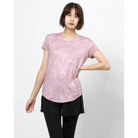 レディース フィットネス 半袖Tシャツ TR-3F2710TS (ピンク)