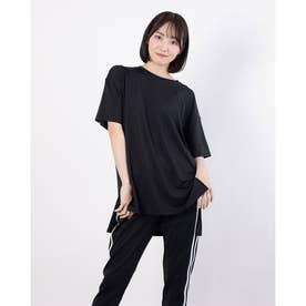 レディース 陸上/ランニング 半袖Tシャツ TR-3R2221TS (ブラック)