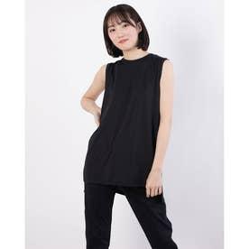 レディース 陸上/ランニング 半袖Tシャツ TR-3R2231TT (ブラック)