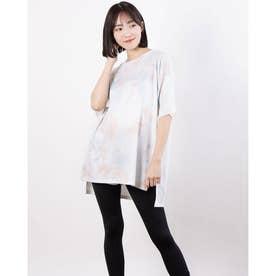 レディース 陸上/ランニング 半袖Tシャツ TR-3R2221TS (ホワイト)