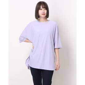 レディース フィットネス 半袖Tシャツ TR-3F2261TS (パープル)
