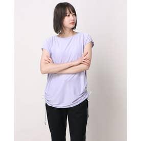 レディース フィットネス 半袖Tシャツ TR-3F2271TS (パープル)
