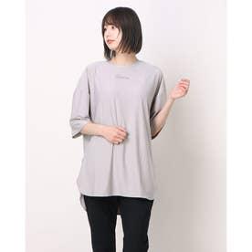 レディース フィットネス 半袖Tシャツ TR-3F2261TS (ベージュ)
