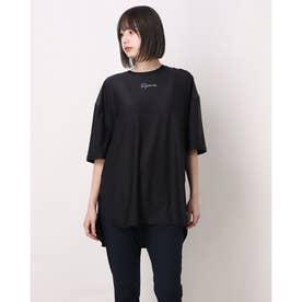 レディース フィットネス 半袖Tシャツ TR-3F2261TS (ブラック)