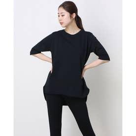 レディース 半袖機能Tシャツ TR-9A2391TS (ブラック)