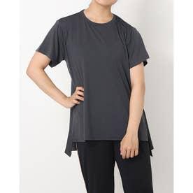 レディース 陸上/ランニング 半袖Tシャツ - TRー3R2801TS (ブラック)
