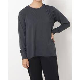 レディース 陸上/ランニング 長袖Tシャツ - TRー3R2811CL (ブラック)