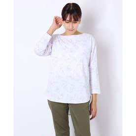レディース 長袖Tシャツ TRー9C2871CL (ホワイト)