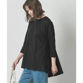 バックフレアTシャツ (ブラック)