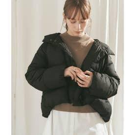 中綿ショートコート (ブラック)