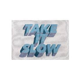 TAKE IT SLOW RUG 50×70 マット (アイボリー(001))
