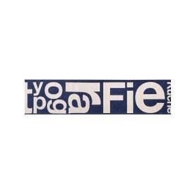 TYPOGRAPHY [typg] RUG 50×240 キッチンマット (ネイビー)