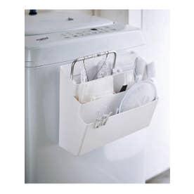 tower (タワー) 洗濯機マグネット収納ポケット 3段 (ホワイト(001))