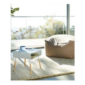 plain (プレーン) ローサイドテーブル (ホワイト(001))