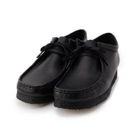 CLARKS Wallabee ブーツ 26155514 (ブラック)